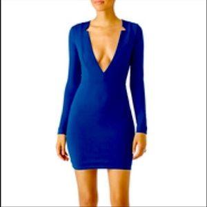 AQ/AQ Blue Sez Dress size 8